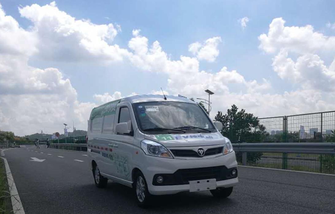 福田风景v5引领城市配送物流电动化新时代